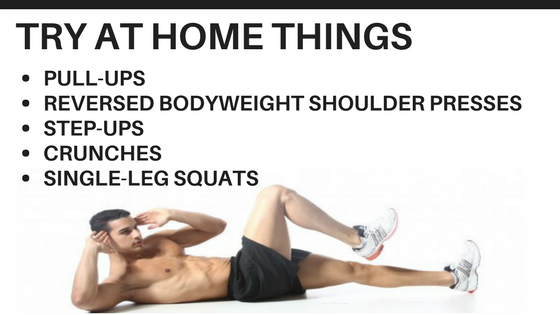 Six pack by home training