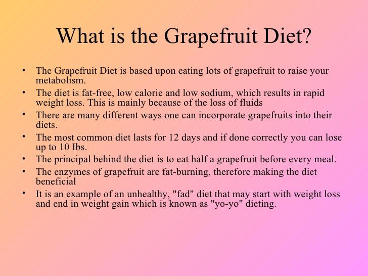 what is grapefruit diet