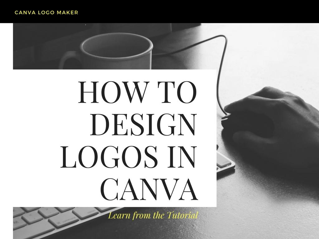Easy logo design tutorial how to make logos in canva for Easy way to create a logo