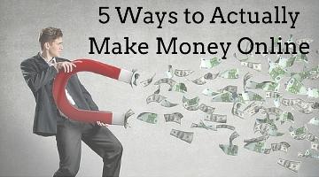 5 Ways to Make More Money Online
