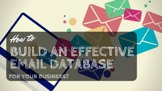 How to Build an Effective Email Database for Your Business?