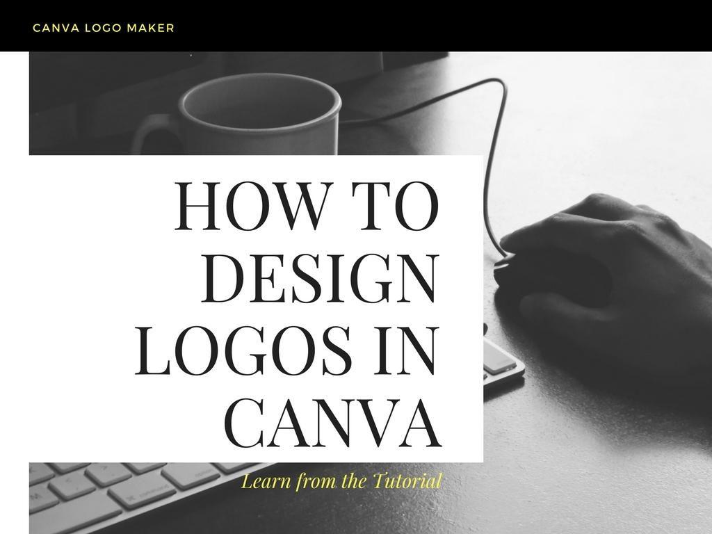Easy Logo Design Tutorial: How to Make Logos in Canva