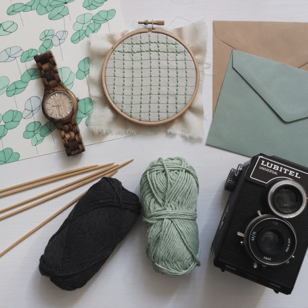 Getting Started on Knit Fabric Embroidery